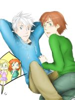 Get an other room, please. [Jack x Hiccup] by Kiki-Asuka