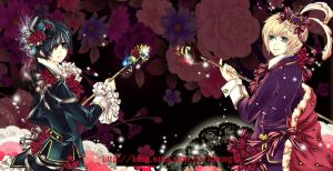ciel and alois. by over123
