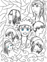 Naruto Group by iloveanime12