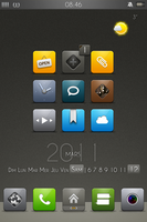 Iphone 4 widget Universal by Laugend
