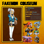 Fakemon Coliseum: Stella by T-Reqs