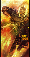Ghost Rider Vert Tag V2 by iSoulTouch