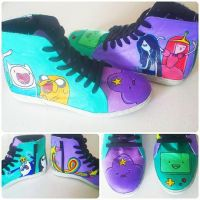 adventure time kicks by playgr0undeyes