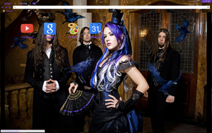The Agonist Theme by bandchromethemes