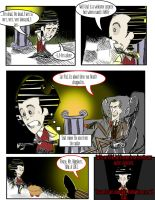 The Adventures of Wilson P. Higgsbury p. 14 by GhostlyMuse