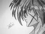 Request- Kenshin Himura by EckoSlime
