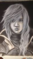 Lightning Return Final Fantasy Xiii - Charcoal by samui153