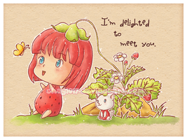 Strawberry Delight by HelloPusa