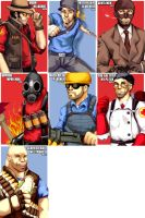 Team Fortress 2 by betrayal-and-wisdom