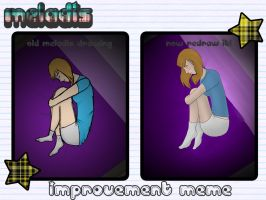 Meladis Improvement Meme - Lonely by path-o-logical