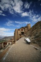 Leh Palace by orographic