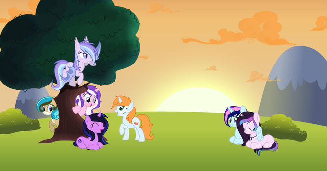 Comision: Picnic by TheAnimator780