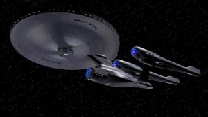 Alternate Reality USS Enterprise Version 2 by Marksman104