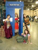 Firefly Cosplay Group Dr. Who Crossover by livetoletlive