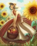 Sunflower Girl by rabidragdoll