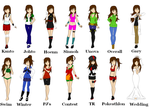 .::Sabrina Oaken Outfits::. by Scoric