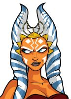 Ahsoka Jedi Knight head detail by The-First-Magelord