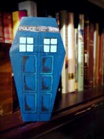 Tardis coffin by PinholeGirl