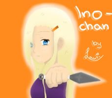 Ino with Kunai } 'I can kill You if I want to!' by 69M00N69
