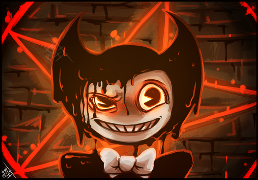 Quick Bendy drawing by BelieveTheHorror