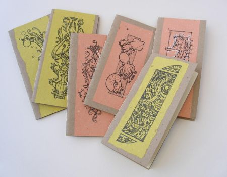 Hand bound booklets by juzo-kun