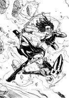 Young avengers INK by dekarogue