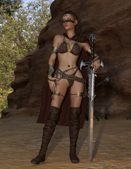 Barbarian Queen by romofrog