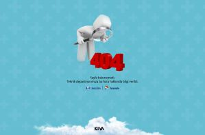 404 Error Page by cmgllp