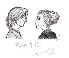 Rush and T.J. by AllenLenalee