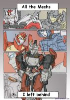 All the mechs I left behind- MTMTE by YukiOni