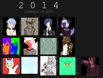 2014 summary of art by Day-Seey
