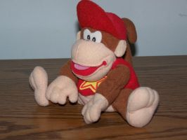 Diddy Kong Plush by SuperTailsHero