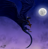 I am the Night by Bluehasia