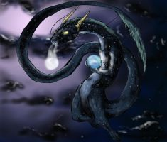 Celestial Dragon Yin_and_Yang by Night-Forager