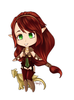 Mirabella, Dragoness by Amaryia