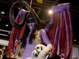 Illidan Cosplay Blizzcon 2010 by lefthandedginger