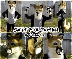 Swift Fox Partial by WindWo1f