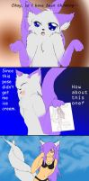 How to ask for ice cream- part 2 by Draxflygon