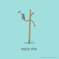 Selfie Stick! by NaBHaN