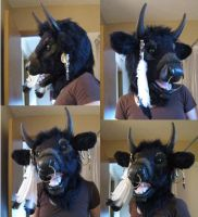 Minotaur Head Re-do by temperance