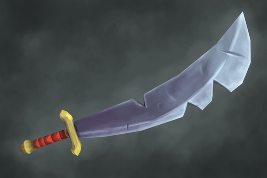 Hand painted weapon by Guizx