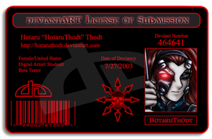 Liscense of Submission 2.0 by HotaruThodt