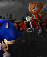 Ivo vs Sonic (Contest) by hikariviny