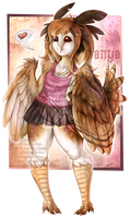 .:Owly Anya:. by MATicDesignS
