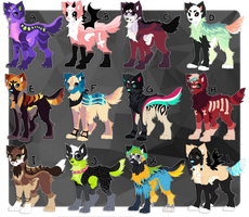 Canine designs [CLOSED] by Hohtis