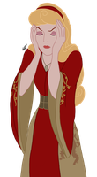 Disney x GoT - Cersei Lannister by Qemma