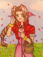 FF VII: Aerith Gainsborough by dagga19 by dagga19