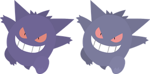 Vector - Gengar by TaerkEX