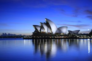 Utzon in Blue by cplcrud