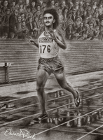 Steve Prefontaine by edwardpollick